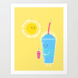 Cool Treat to Beat the Heat Art Print