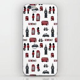 London icons illustration iPhone Skin