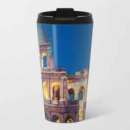 Coliseum at Night Travel Mug