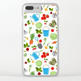 gardener Clear iPhone Case