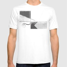 Sketch. (Nile #2) Mens Fitted Tee MEDIUM White