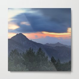 Dream sunset. At the mountains... Metal Print