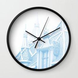 CASTLE - MAKE IT BLUE Wall Clock