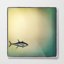 One more tuna Metal Print