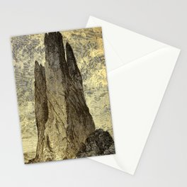 """Cathedral Rock, """"Garden of the Gods,"""" Colorado, Red Trussic Sandstones Stationery Cards"""