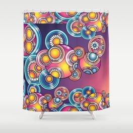 Swirley Do... Shower Curtain