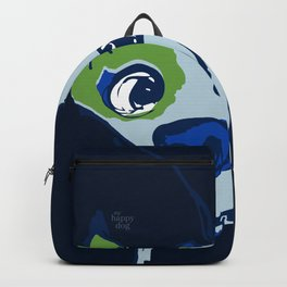 Anton - blue and lime Backpack