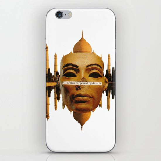 Symmetrical Forces iPhone & iPod Skin