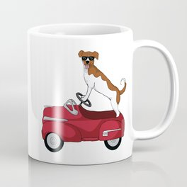 Driving Dog Coffee Mug