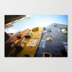 Colours of Warsaw Canvas Print