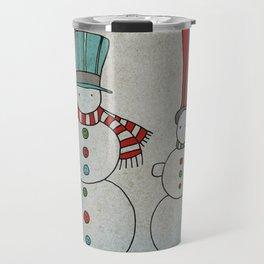 Snowmen Travel Mug