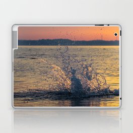 Drops of water on the sea Laptop & iPad Skin
