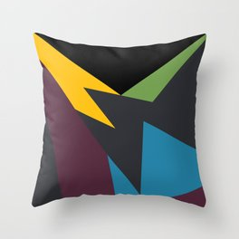 VII Bordeaux Throw Pillow