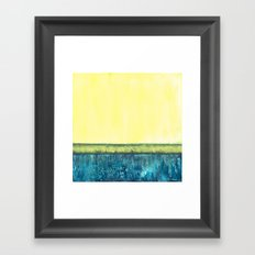 Foundation Framed Art Print
