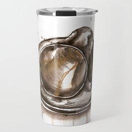 Tipped over Travel Mug