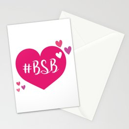 BSB - I LOVE BSB - BACKSTREET Stationery Cards