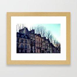 November in Paris Framed Art Print