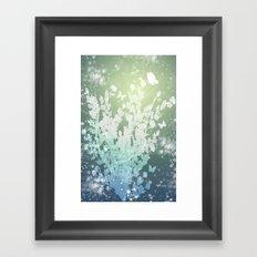 The Butterfly Bush Framed Art Print