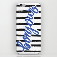 bonjour iPhone & iPod Skins featuring Bonjour! by magicmaia