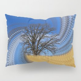 Prairie oak swirl Pillow Sham