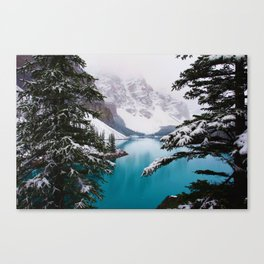 Paradise in the Mountains (Color) Canvas Print