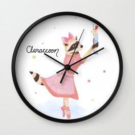 Claraccoon Wall Clock