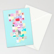 For Japan with love 4 Stationery Cards