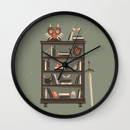 Zelda Shelf // Miyamoto Wall Clock