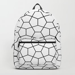 Moroccan Diamonds B&W Backpack
