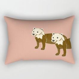 Year of the dog : Speothos bush-dog 1 Rectangular Pillow