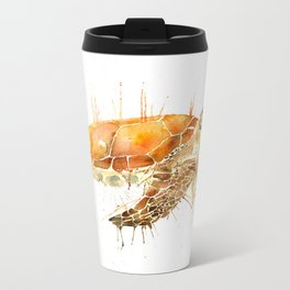Sea Turtle  Metal Travel Mug