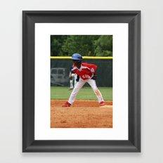 Little League 2012 State Championship Framed Art Print
