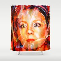 thank you Shower Curtains featuring Thank you  by Walter Zettl
