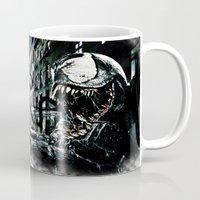venom Mugs featuring Venom  by D77 The DigArtisT