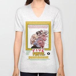 Junxploitation Poster (5 Fists of Punishment) Unisex V-Neck