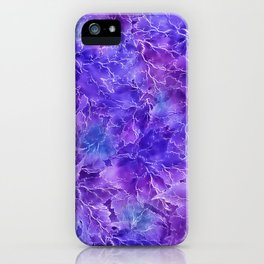 Frozen Leaves 20/a iPhone Case