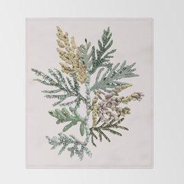 Hybrid Tree Branch Throw Blanket
