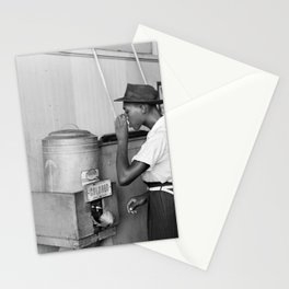 Segregated Drinking Fountain 1939 - Civil Rights Photo Stationery Cards