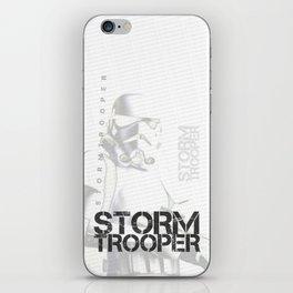 Star Wars Stormtrooper - Digital Art Print iPhone Skin