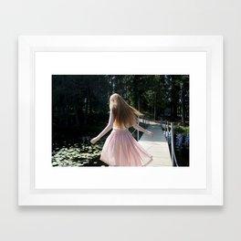 Daydreamers resort Framed Art Print
