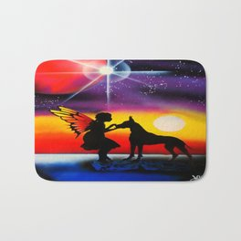 For the Love of a Great Dane Bath Mat