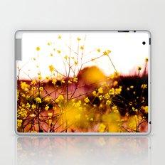 Flowers at Sunset Laptop & iPad Skin