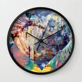 #Love Wall Clock