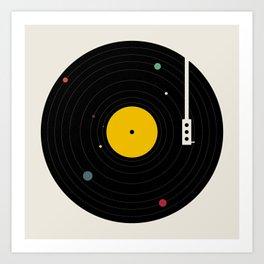 Music, Everywhere Art Print