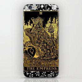 Floral Tarot Print - The Empress iPhone Skin
