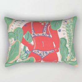 The Art Of Bikini Rectangular Pillow
