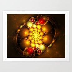 Dragon Eggs Art Print