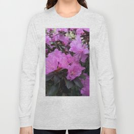 Electric Pink Long Sleeve T-shirt