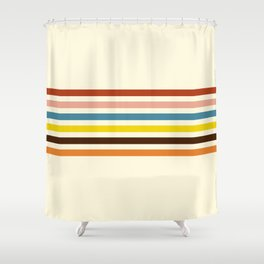 Classic Retro Govannon Shower Curtain