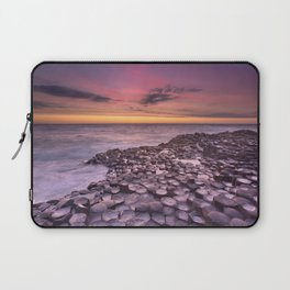 The Giant's Causeway in Northern Ireland at sunset Laptop Sleeve